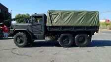 Military Truck 12' Cargo cover w/ built in end-curtains Green-vinyl  M35A2/M35A3