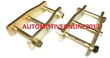 Toyota Hilux Extended Shackles Independant Front Suspension and Rear Leaf Spring