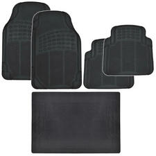 Car SUV Floor Mat Motor Trend Cargo All Weather Protection Heavy Duty Black