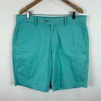 Gazman Mens Shorts Size 38 Neon Blue With Pockets