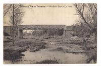 environs d'aix en provence , bords de l'arc , le pont