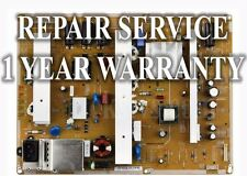 Mail-In Repair Service For Samsung BN44-00516A PN64E7000F 1 YEAR WARRANTY