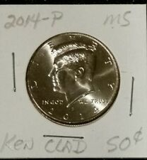 2014-P 50C MINT KENNEDY UNCIRCULATED HALF DOLLAR - WOW! COMBINED SHIPPING!
