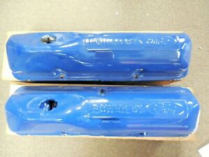 NOS 1968 1969 Ford Mustang Fairlane Torino 390 Power By Ford Valve Covers C7AZ