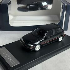 1/43 Mark43 Honda Civic EF9 SiR II with Mugen RNR Wheel Black Met PM4396MBK