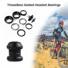 """AHEAD THREADLESS HEADSET COMPLETE 1-1//8"""" FOR MTB,ROAD BIKE,SCOOTER ETC"""