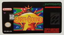 REPLACEMENT SNES CARTRIDGE STICKER LABELS FOR: EARTHBOUND