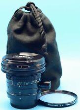 Nikon PC NIKKOR 28mm f/3.5 Lens EXc+++++++++W/Caps Case & Filter