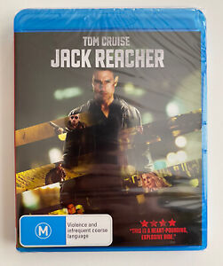 Jack Reacher (Blu-ray) Region B Tom Cruise 2013 Action Brand New & Sealed!