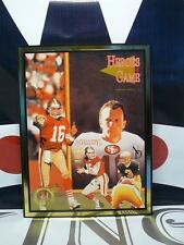 Heroes of The Game #19 Joe Montana & Dan Marino Gold Edition MINT