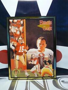 Heroes of The Game #19 Joe Montana & Dan Marino Gold Edition MINT