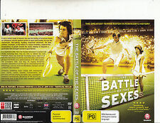 The Battle of The Sexes-2013-Billie Jean King VS Bobby Riggs-Tennis-DVD