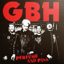 G.B.H. / GBH – Perfume And Piss LP / Vinyl / New Sealed (2013) Hardcore Punk