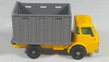 Matchbox Lesney  No. 37 Yellow Dodge Cattle Truck   PKC