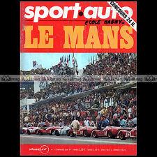 SPORT AUTO N°113-c 24 HEURES DU MANS 1971 FRANCOIS CEVERT MERCEDES 350 SL LOLA