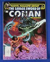 SAVAGE SWORD OF CONAN #96 COMIC BOOK / MARVEL MAGAZINE 1984 ~ NM