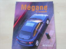 52209) Renault Megane Coach Prospekt 12/1997