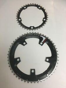 FSA Super Road Chainrings 39+53t 10s Shimano Road Bike 130 BCD Chain Rings NEW