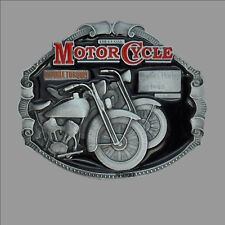 Harley-Davidson Twin Oldtimer Motorrad vintage Bike Buckle Gürtelschnalle *194