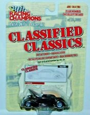 RACING CHAMPIONS CLASSIFIED CLASSICS CUSTOM 1937 FORD RAPIDE COUPE