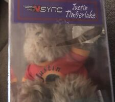 2000 Nsync Justin Timberlake Limited Edition Rare Bear Collectible Plush Zeeks