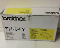 Original Brother TN-04Y Toner Gelb/Yellow für Brother HL-2700, MFC-9420 Series