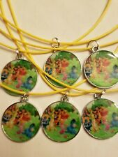 CLEARANCE Birthday party favors ☆ Lot of 6☆Necklaces ☆WINNIE THE POOH☆prizes