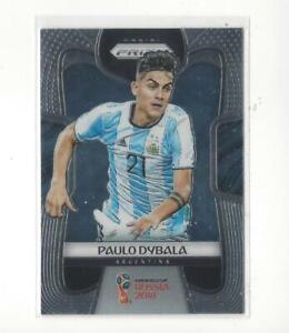 2018 Panini Prizm World Cup #10 Paulo Dybala Argentina