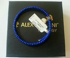 Alex and Ani Natural Wonders GLACIER Blue Canopy Wrap  Bangle Bracelet NWT BOX