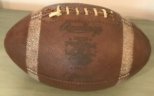 Vintage AFL Official Rawlings Football (American, League, NFL, Retro, 1960s)
