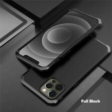Cell Phone Case Shockproof Bumper Protect Metal Armor Hard Cover Accessories New