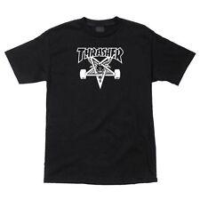 Thrasher Magazine Skate Goat Skateboard Shirt Black Xl