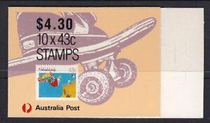 Australia 1990 Skateboarding Booklet 1K with hanger tab extensions B163AT