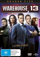 Warehouse 13 : Season 5 DVD : NEW