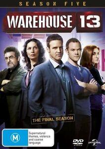 Warehouse 13 : SEASON 5 : NEW SEALED DVD