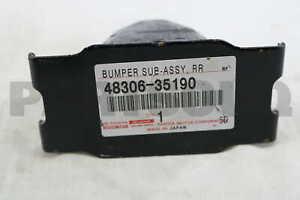 4830635190 Genuine Toyota BUMPER SUB-ASSY, REAR SPRING 48306-35190