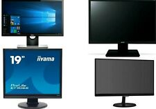 "19"" Inch Monitor Screen TFT PC Computer VGA DVI Port ALL BIG BRANDS GRADE A Post"
