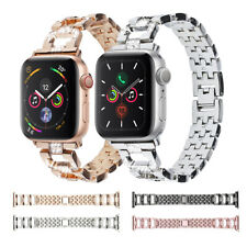 38/40mm Women Bling Stainless Steel Band Strap for Apple Watch Series 5 4 3 2 1