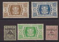 France Wallis & Futuna stamp group