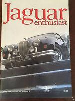 JAGUAR ENTHUSIAST Volume 12 Number 5 - May 1996