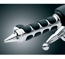 "Chrome 1"" Handlebar Hand Grips Fit Suzuki Boulevard M109R C50T C90T M50 M90 S40"