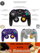 NINTENDO SWITCH WIRELESS GAMECUBE CONTROLLER Wavebird Super Smash Bros Ultimate
