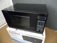 Sharp R-242(BK)W - Mikrowelle - freistehend - 20 Liter - 800 W Schwarz Microwave