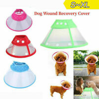 Pet Cat Dog Collar Head Wound Healing Anti-Bite Protective Cover Cone Guard-Ring