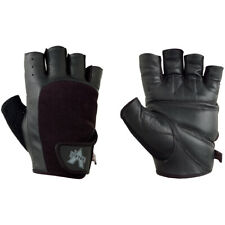 Valeo Competition Leather Weight Lifting Gloves