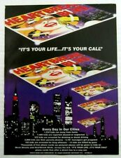"""1994 Heartbreak Blvd """"Its Your Life.Its Your Call"""" Phone Cards Magazine Ad"""