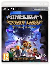MINECRAFT STORY MODE A TELLTALE GAME SERIES SEASON PASS DISC PS3 PLAYSTATION 3