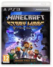 Modo Historia De Minecraft una serie de juegos revelador pase de temporada disco PS3 Playstation 3