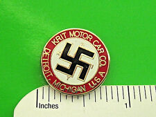 KRIT (K-R-I-T) Motor Car Co. - hat pin , lapel pin , tie tac , hatpin GIFT BOXED