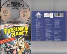 RETURN TO THE FORBIDDEN PLANET- 1989 Live Original London Cast Recording CD RARE